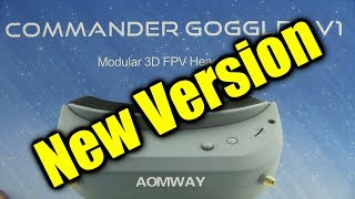 Download Review: AOMWAY Commander FPV video glasses (updated version) Video