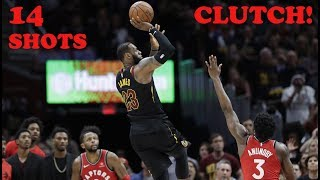 Download LeBron James - All 14 Clutch Shots - 2017/2018 NBA Season! (Chronological Order) Video