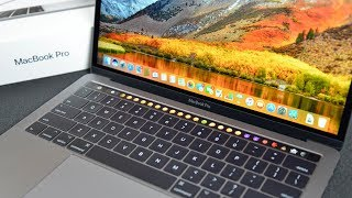 Download Apple MacBook Pro 13″ Touch Bar (2017): Unboxing & Review Video