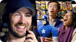 Download Captain America Pranks Comic Fans with Surprise Escape Room // Omaze Video