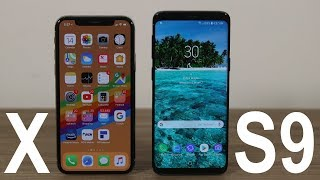 Download Samsung Galaxy S9 vs iPhone X : Full Comparison (Winner Decided) Video