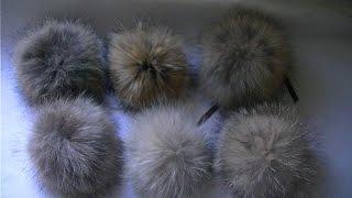 Download Как сделать меховой помпон.How to make a fur pompom Video