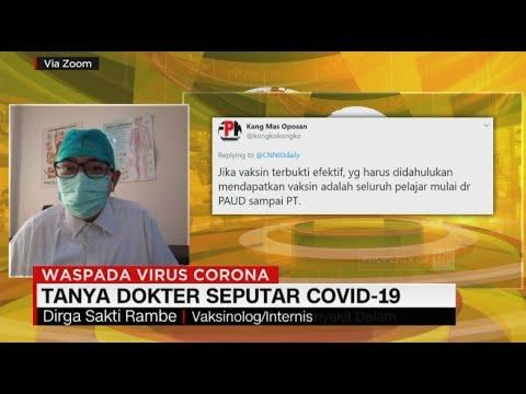 Bicara Perkembangan Vaksin Covid-19 Dengan dr. Dirga Sakti Rambe