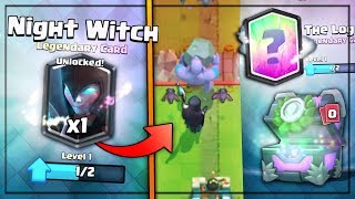 Download FREE NIGHT WITCH & NIGHT WITCH GAMEPLAY!   Clash Royale   12 WINS NIGHT WITCH CHALLENGE CHEST!! Video