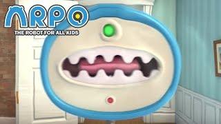 Download ARPO The Robot For All Kids - Man Eating Vacuum | 에피소드를보고 | 어린이를위한 만화 Video