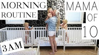 Download MY MORNING ROUTINE with 10 CHILDREN - ( PART 1/3 ) Video