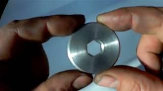 Download Как сделать внутренний шестигранник на токарном станке. Video