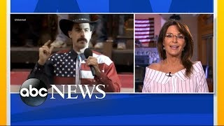 Download Sarah Palin responds to Sacha Baron Cohen prank Video