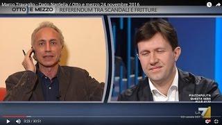 Download Marco Travaglio - Dario Nardella / Otto e mezzo 24 novembre 2016 Video