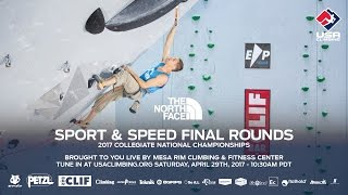 Download Finals - 2017 USA Climbing Sport & Speed Collegiate National Championship Video