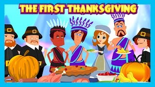 Download The First Thanksgiving English Story For Kids    The Story Of Thanksgiving Video