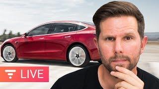 Download $35K Tesla Model 3 is HERE! (sorta) Is It worth It? [Live] Video