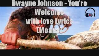Download You're welcome (moana) with love lyrics Video