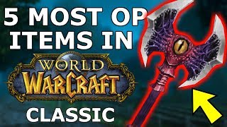Download 5 Most Overpowered Items in Classic WoW Video