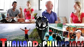 Download LIVING IN THAILAND VS PHILIPPINES Interview (ADITL) Video