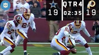Download The Craziest Game-Winning Field Goal Sequence in NFL History! (Cowboys vs. Redskins Week 9, 2006) Video