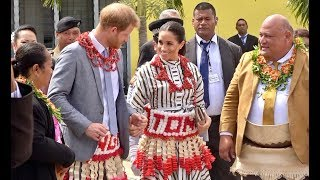 Download Royal Tour - Duke and Duchess of Susex visit Tongan Youth, Cultural and Tongan Made Exhibition Video