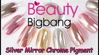 Download Beauty Bigbang Review✔Silver Mirror Chrome Nail Powder Pigment (Beauty&Ideas Nail Art) Video