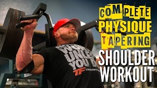 Download Complete V-Taper Shoulder Workout with IFBB Pro Ryan Terry Video