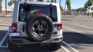 Download 2016 Jeep Wrangler 75th anniversary. With 33″ tires. Video
