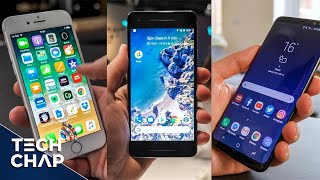 Download Google Pixel 2 vs Galaxy S8 vs iPhone 8 - Best Phone? | The Tech Chap Video