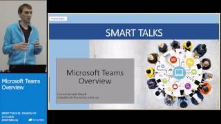 Download SMART TALKS 81: Dynamics AX - Microsoft Teams Overview Video