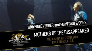 Download U2 feat. EDDIE VEDDER and MUMFORD & SONS - MOTHERS OF THE DISAPPEARED (IEM AUDIO - MULTICAM HD) Video