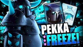 Download NEW PEKKA FREEZE DECK DESTROYS LADDER!! FREEZE BUFF OP!! Video