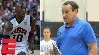 Download Coach K gives Duke the message he gave to Kobe Bryant | College Basketball Video