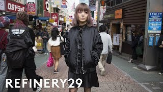 Download The Dark Side Of Harajuku Style You Haven't Seen Yet | Style Out There | Refinery29 Video