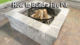 Download How to Build a Square Fire Pit Video