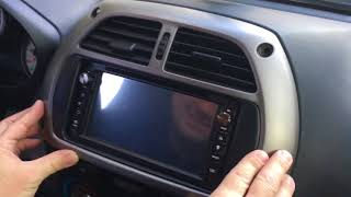 Download Removal radio Toyota RAV -4 old model Video