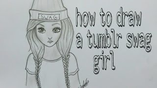Download How to draw a swag girl tumblr Video