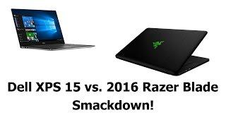 Download 2016 Razer Blade vs. Dell XPS 15 9550 Comparison Smackdown Video