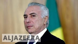 Download Brazil's President Temer charged with corruption Video