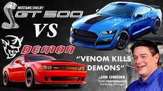 Download 2019 Shelby GT500: VENOM KILLS DEMONS! (Ford Challenges Dodge Demon) Video