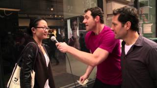 Download Billy on the Street: Would You Have Sex With Paul Rudd? Video