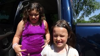 Download Real Food Fight In Truck ″Victoria & Annabelle Freak Out″ Toy Freaks Family Video