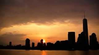 Download New York City spectacular sunrise time lapse 4-13-2014 Video