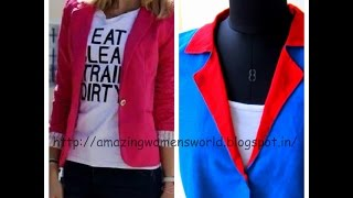 Download EASY MAKING JACKET / COAT - NOTCHED COLLARS , NOTCHED LAPELS Video