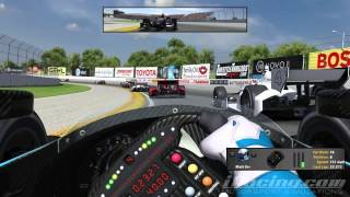 Download iRacing : On The Warpath! (Indycar Fixed @ Milwaukee) Video