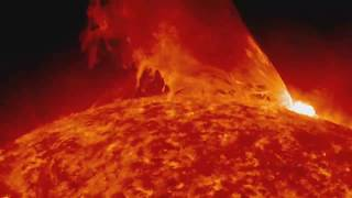 Download Solar Flares - Compilation of clips showing Solar Flares / CMEs etc erupting from our Sun Video