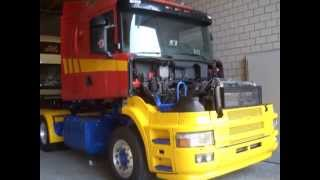 Download Schildknecht Scania Hauber T164 580 Video