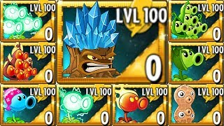 Download Plants vs. Zombies 2 All Pea & Torchwood LEVEL 100 Power Up Challenge! Video
