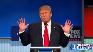 Download Donald Trump and Megyn Kelly go back and forth at the Fox News GOP debate Video