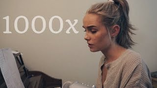 Download 1000x - Jarryd James & Broods (Cover) by Alice Kristiansen Video