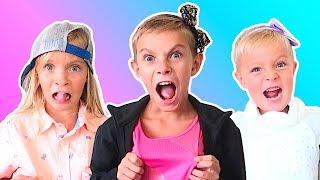 Download Kids CLOTHES SWAP Challenge! Video