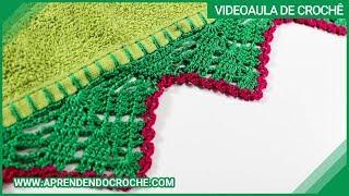 Download Barrado de Crochê Rositas - Aprendendo Croche Video