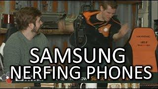 Download Samsung is NERFING phones! - WAN Show Mar. 2 2018 Video