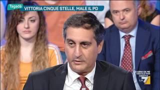 Download Tagadà - Vittoria 5 Stelle, male il PD (Puntata 20/06/2016) Video
